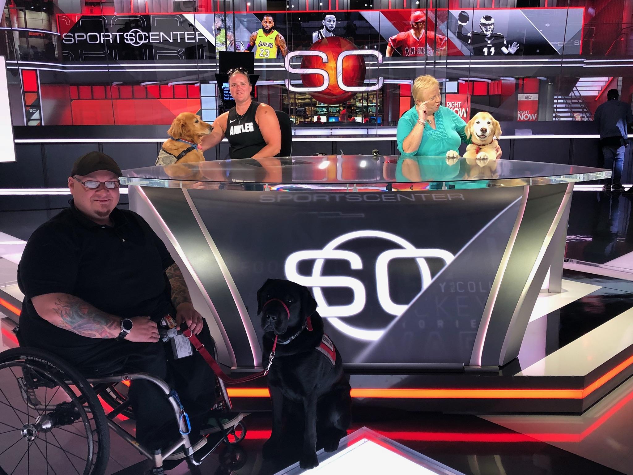 ESPN service dog forum