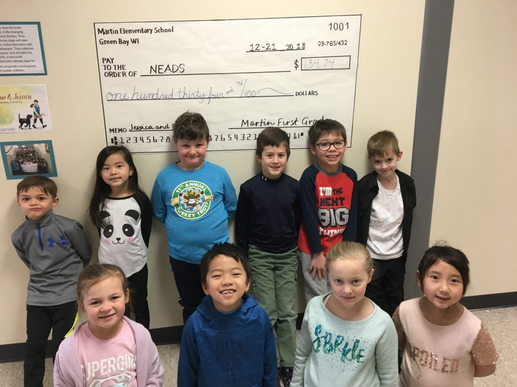 Martin Elementary Pennies for Pups