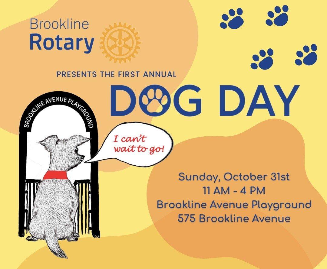 Brookline Dog Day Flyer